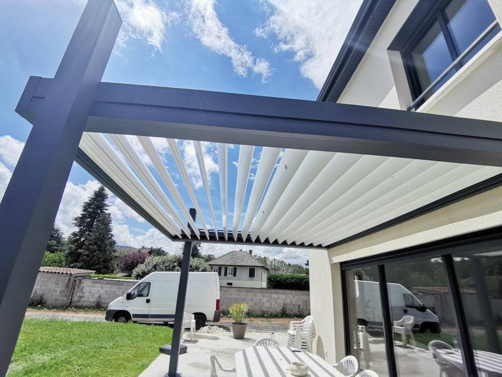 Pergola Bioclimatique Suisse Geneve Vaud Valais Fribourg Neuchatel